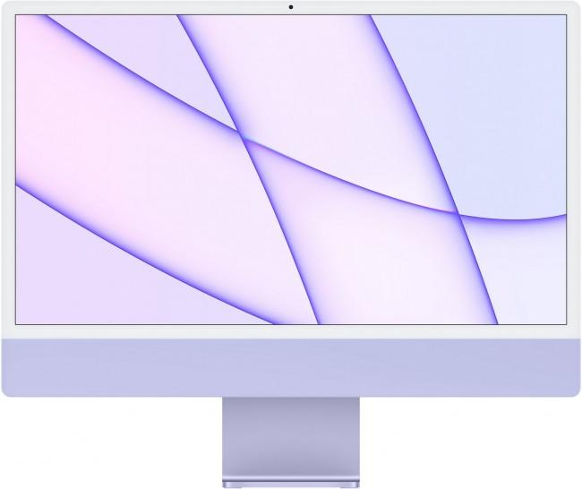 Apple iMac 24'' Retina 4.5K (Z130) Filoletowy - zdjęcie główne