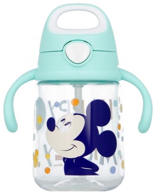 Mickey Mouse - kubek niekapek ze słomką 370 ml - zdjęcie główne