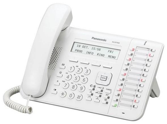 Panasonic KX-DT543 biały - zdjęcie główne