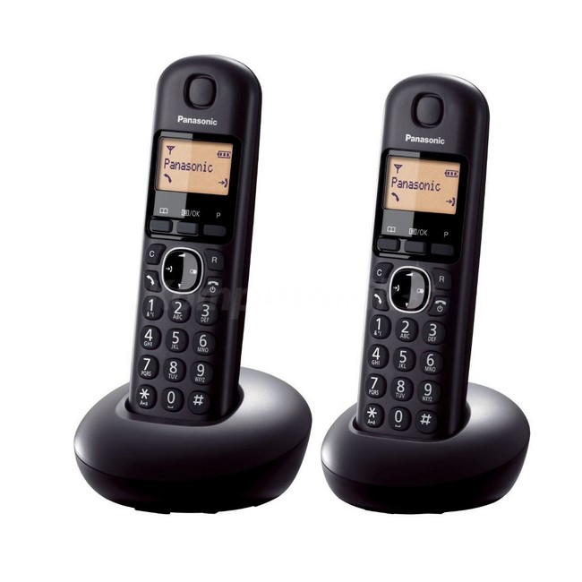Panasonic KX-TGB212PDB czarny - zdjęcie główne