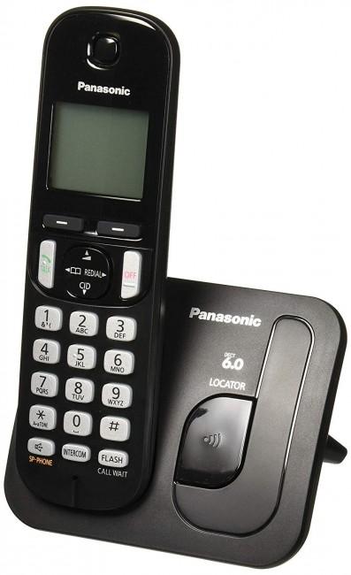 Panasonic KX-TGC210PDB czarny - zdjęcie główne