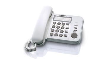 Panasonic KX-TS520PDW biały - zdjęcie główne