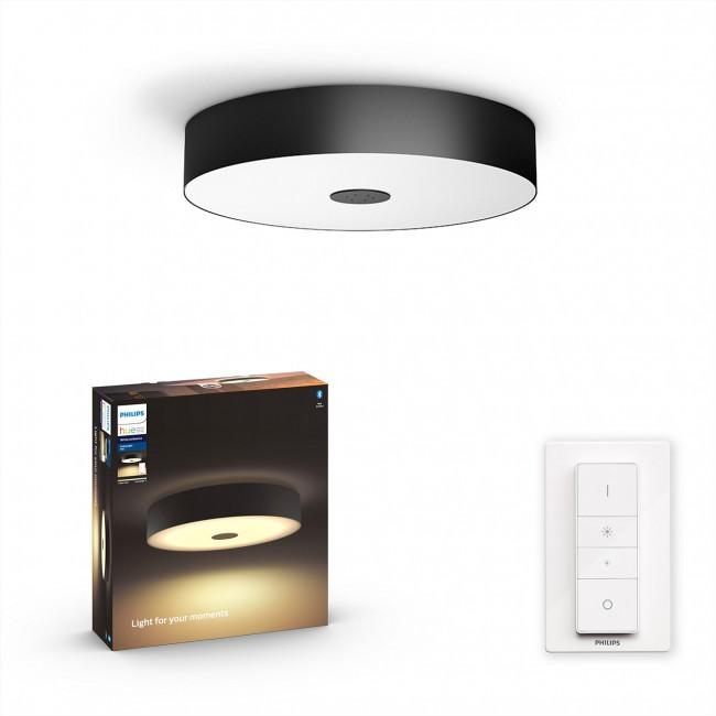 Philips Hue Fair ceiling lamp black 1x39W BT - zdjęcie główne