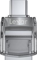 Lexar 64GB JumpDrive Dual Drive D35c USB 3.0 Type-C - zdjęcie główne