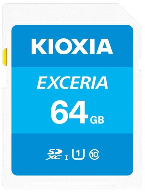 Kioxia Exceria N203 SDXC 64GB UHS-I U1 - zdjęcie główne