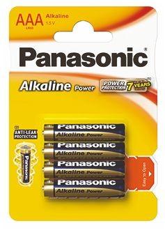 Panasonic Power Alkaline AAA - 4 szt - zdjęcie główne