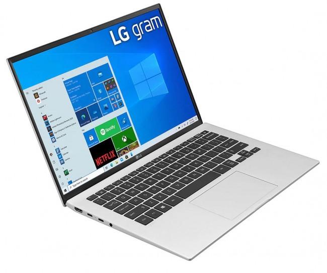 """LG GRAM 14"""" 2021 (14Z90P-G.AA56Y) - srebrny - zdjęcie główne"""