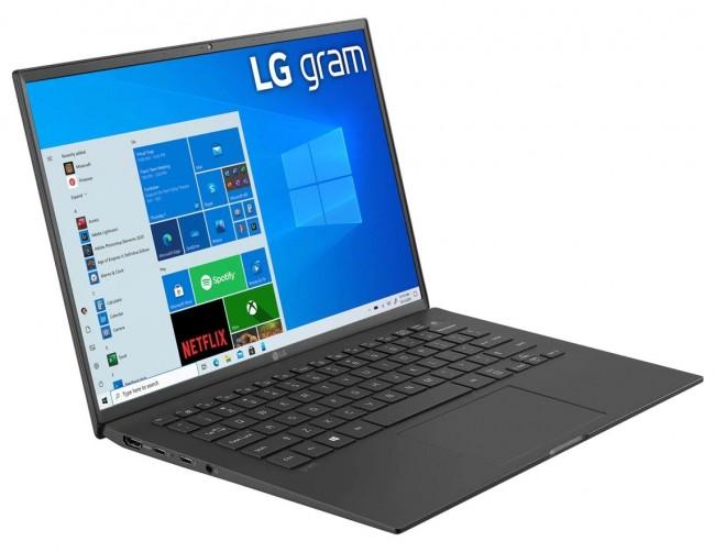 """LG GRAM 14"""" 2021 (14Z90P-G.AP52Y) - czarny - zdjęcie główne"""