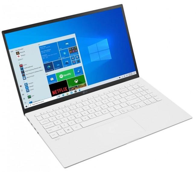 """LG GRAM 15.6"""" 2021 (15Z90P-G.AA54Y) - biały - zdjęcie główne"""