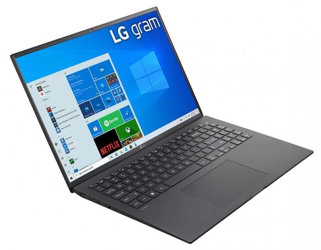 """LG GRAM 16"""" 2021 (16Z90P-G.AA75Y) - czarny - zdjęcie główne"""