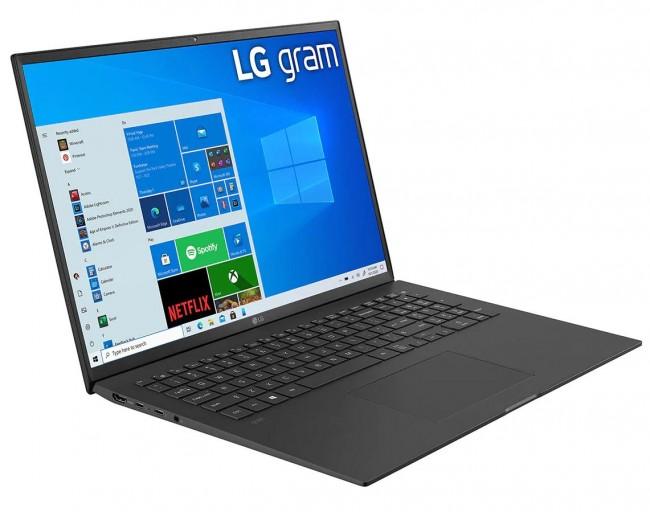 """LG GRAM 17"""" 2021 (17Z90P-G.AA75Y) - czarny - zdjęcie główne"""