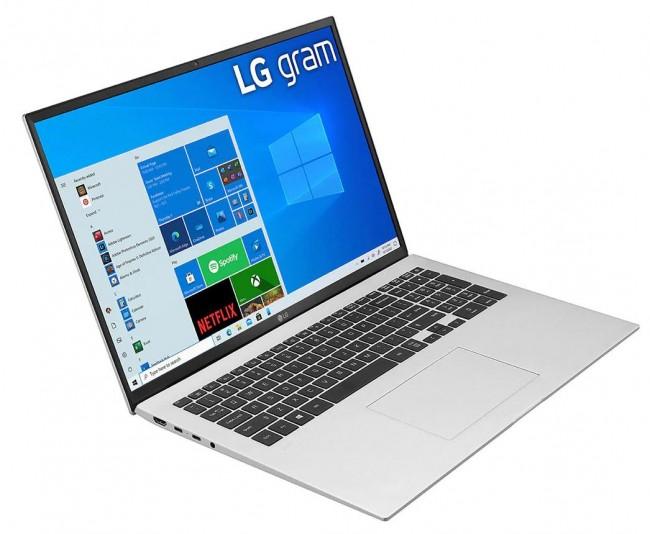 """LG GRAM 17"""" 2021 (17Z90P-G.AA79Y) - srebrny - zdjęcie główne"""
