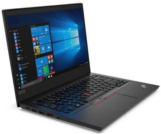 Lenovo ThinkPad E14 (20RA001DPB) Czarny - 500GB M.2 PCIe + 1TB HDD - zdjęcie główne