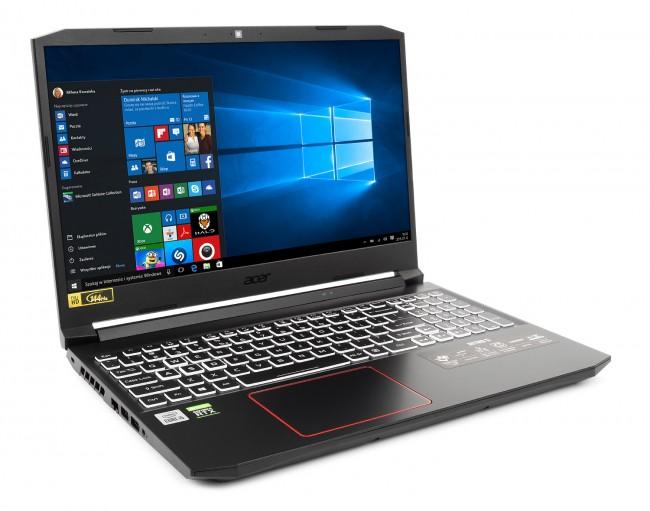 Acer Nitro 5 (NH.QB2EP.001) - 512GB M.2 PCIe   Windows 10 Home - zdjęcie główne