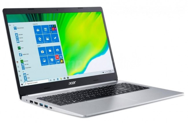 Acer Aspire 5 (NX.HW4EP.005) - srebrny - 512GB M.2 PCIe + 1TB HDD   16GB - zdjęcie główne