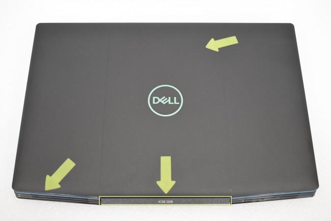 DELL Inspiron 15 G3 3500-4169 - czarny - 512GB M.2 PCIe | Windows 10 Home [oferta Outlet] - zdjęcie główne