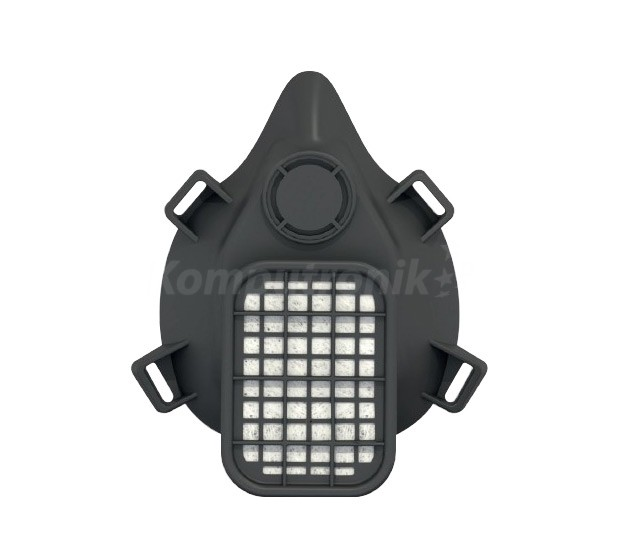 Zorin półmaska ochronna ST-01 z filtrem ST-4000 czarna - zdjęcie główne