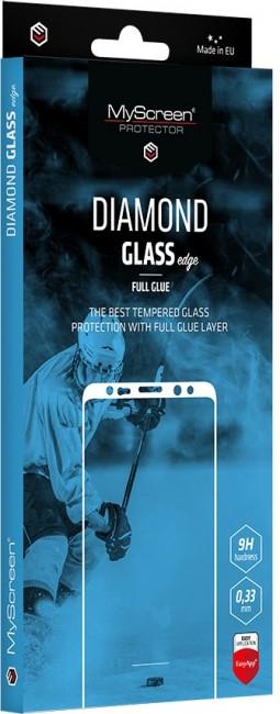 MyScreen Diamond Glass edge Black Samsung Galaxy S21 - zdjęcie główne