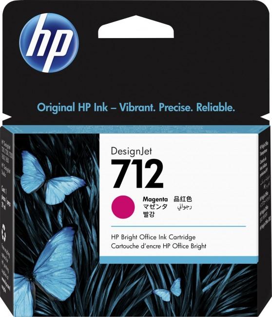 HP 712 purpurowy 3ED68A - zdjęcie główne