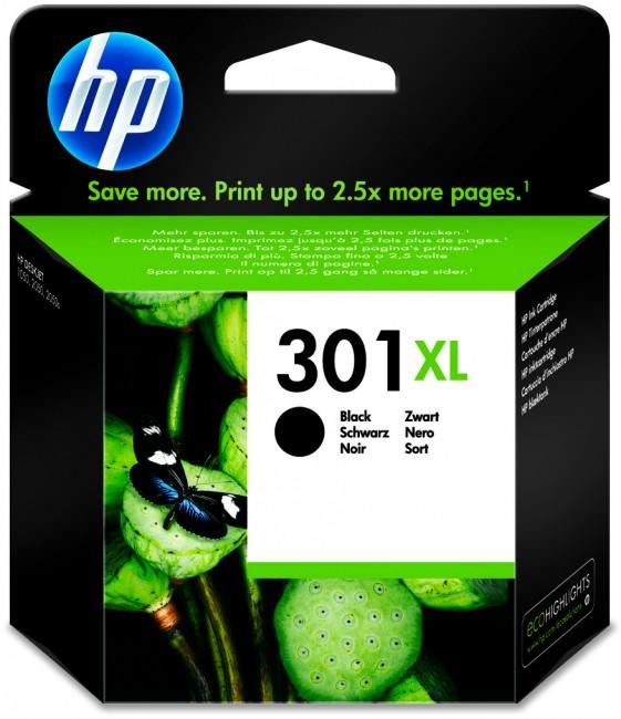 HP 301 XL czarny CH563EE - zdjęcie główne