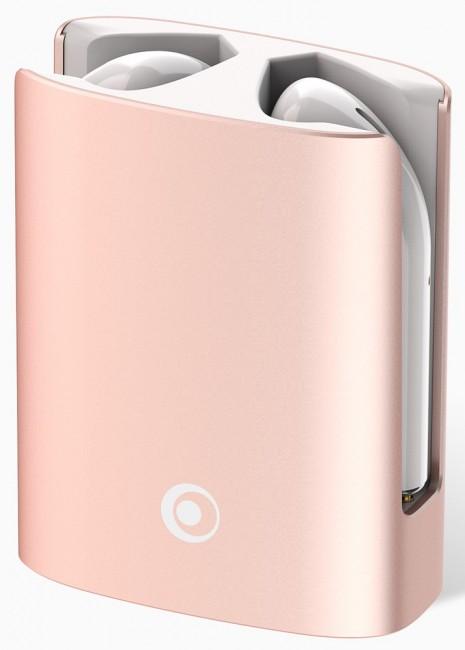 Bigben True Wireless Metal Buds różowe - zdjęcie główne