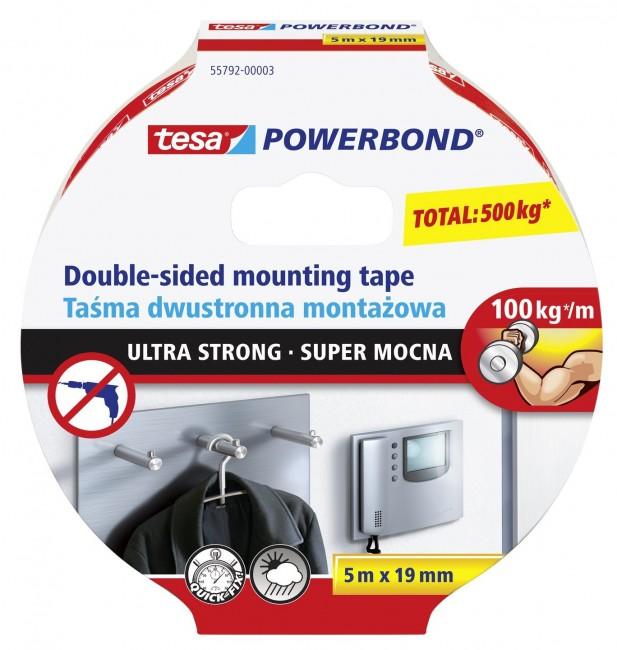 tesa taśma montażowa Powerbond 5m/19mm - zdjęcie główne