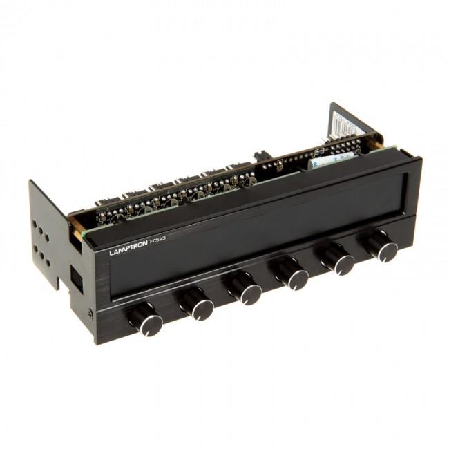 Lamptron FC5 V3 Fan Controller 5,25'' - czarny - zdjęcie główne