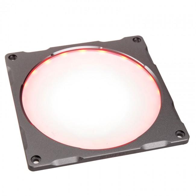 PHANTEKS Halos Lux ramka 140mm, RGB-LED, aluminium - szara - zdjęcie główne