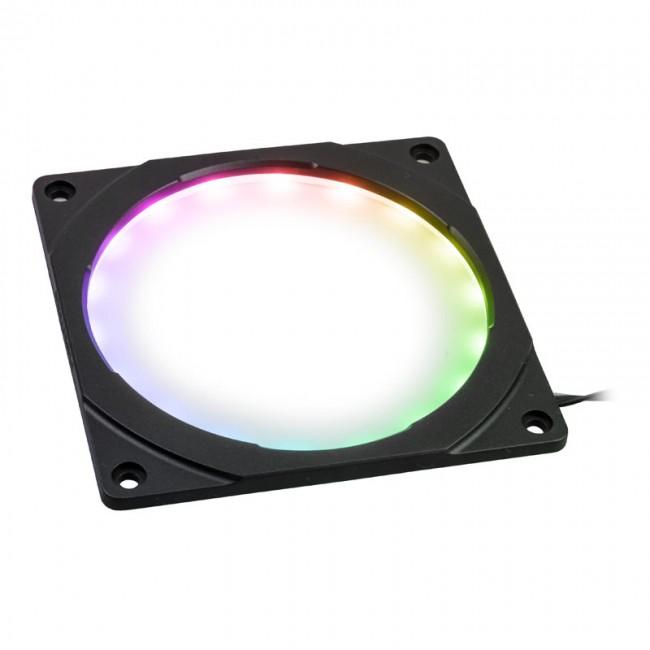 PHANTEKS Halos Digital ramka 120mm, Digital-RGB-LED - czarna - zdjęcie główne