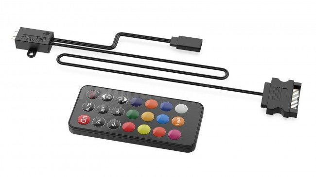 SilentiumPC Nano-Reset Remote ARGB KIT - zdjęcie główne