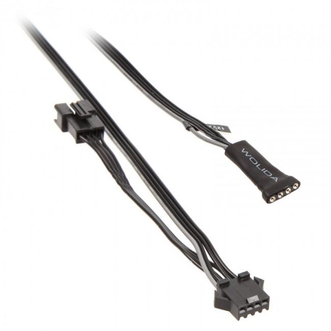 PHANTEKS adapter 4-pin RGB LED dla płyt głównych ze łączem LED - zdjęcie główne