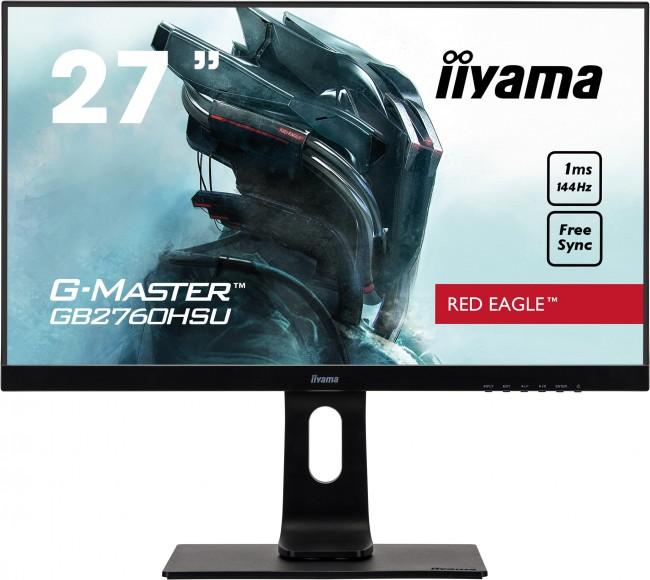 iiyama G-Master GB2760HSU-B1 Red Eagle [1ms, 144Hz, FreeSync] - zdjęcie główne