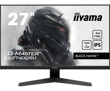 iiyama G-Master G2740QSU-B1 Black Hawk [1ms, 75Hz, FreeSync] - zdjęcie główne