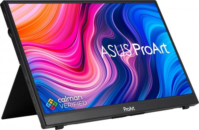 ASUS ProArt Display PA148CTV Portable Professional Monitor [100% sRGB, 100% Rec.709, ΔE < 2, Calman Verified, USB-C, 10-point Touch, Control Panel, ASUS Dial, Adobe Software Integration] - zdjęcie główne