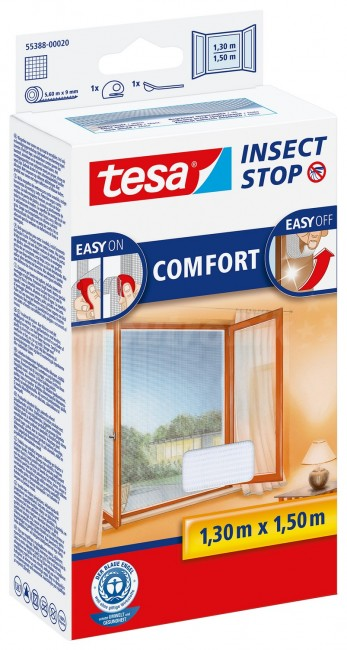 tesa Moskitiera Okienna Comfort 55388-00020-00 Biała - zdjęcie główne