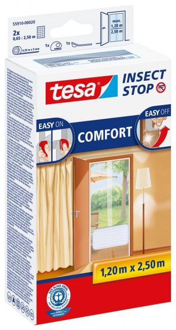 tesa Moskitiera Balkonowa Comfort 55910-00021-00 Czarna - zdjęcie główne