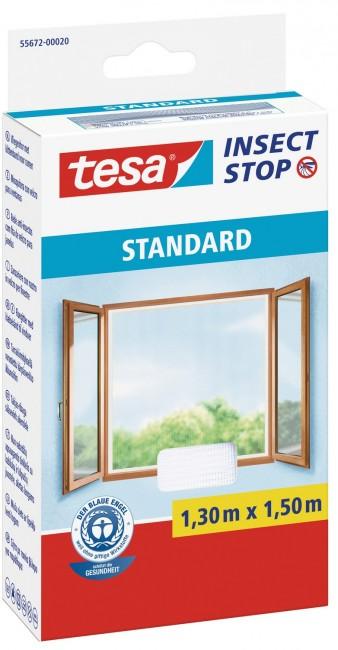 tesa Moskitiera Okienna Standard 55672-00020-03 Biała - zdjęcie główne