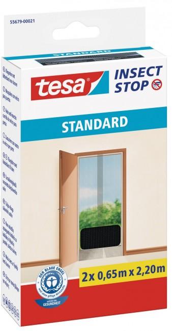 tesa Moskitiera Balkonowa Standard 55679-00021-03 Czarna - zdjęcie główne