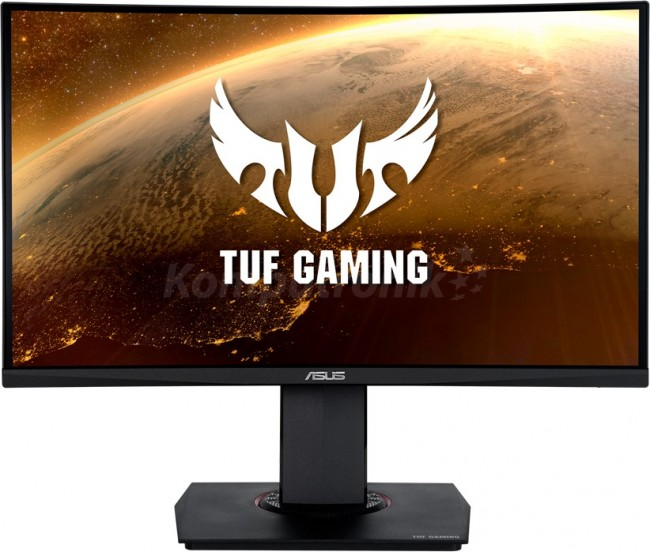 ASUS TUF Gaming VG24VQR Curved [1ms, 165Hz, Extreme Low Motion Blur™, FreeSync™ Premium, Shadow Boost] - zdjęcie główne