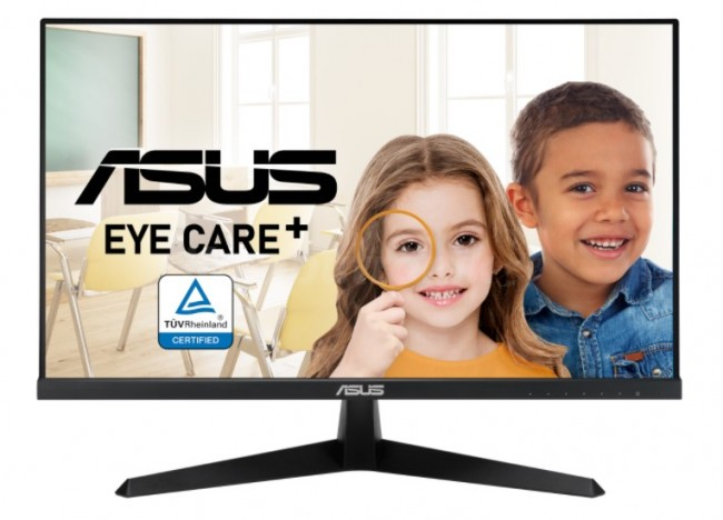 ASUS VY249HE Gaming [ IPS, 75Hz, 1ms, FreeSync, Eye Care+, Color Augmentation, Rest Reminder, Asus BacGuard] - zdjęcie główne