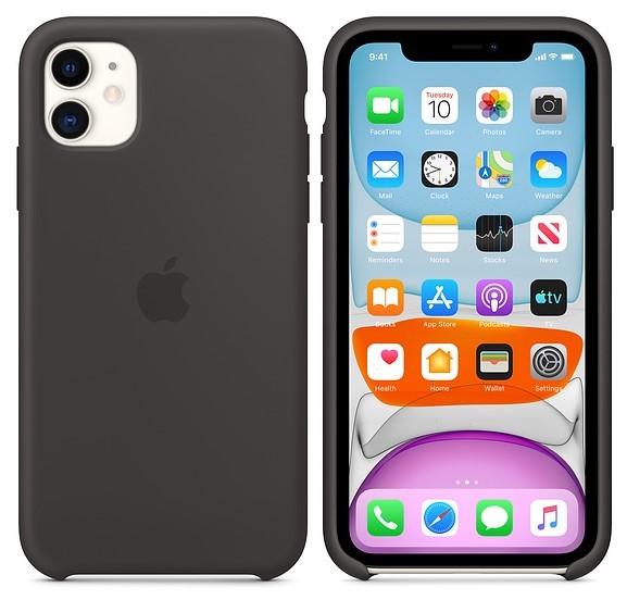 Apple iPhone 11 Silicone Case czarny - zdjęcie główne