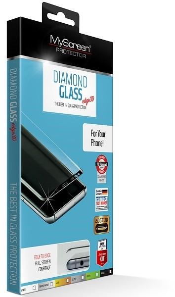MyScreen Diamond Glass Edge 3D iPhone XR czarny - zdjęcie główne