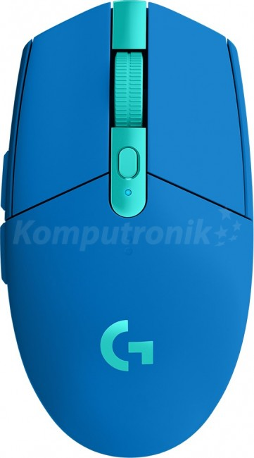 Logitech G305 Lightspeed Niebieska - zdjęcie główne