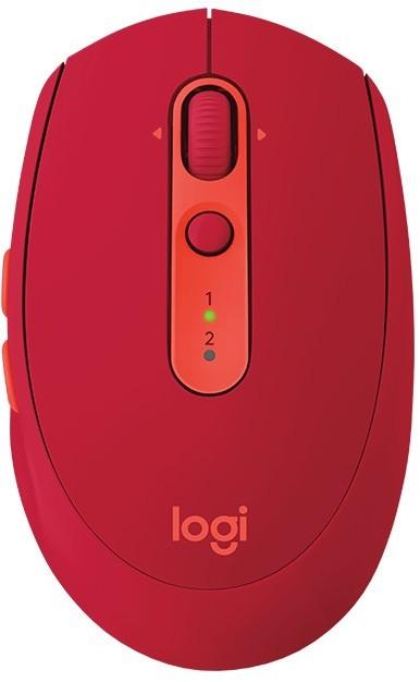 Logitech M590 Multi-Device Silent Rubinowa - zdjęcie główne