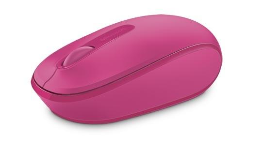Microsoft Mobile Mouse 1850 Magenta Pink + Gra PC DIRT 5 - zdjęcie główne