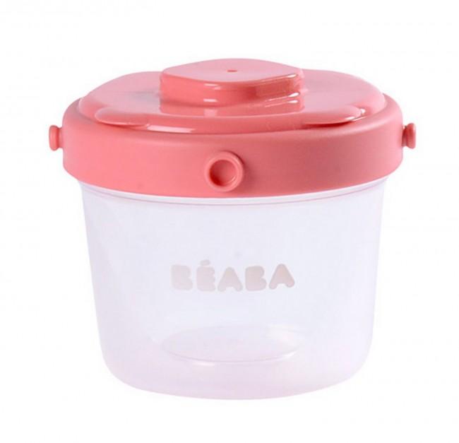 Beaba Clip Pink 60 ml i 120 ml 6 szt - zdjęcie główne