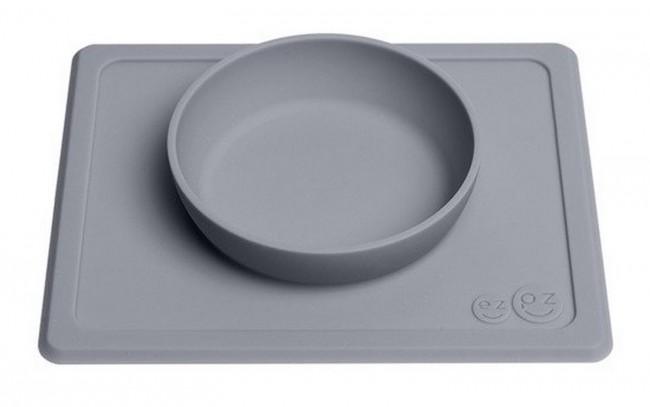 EZPZ Mini Bowl 2w1 szara - zdjęcie główne