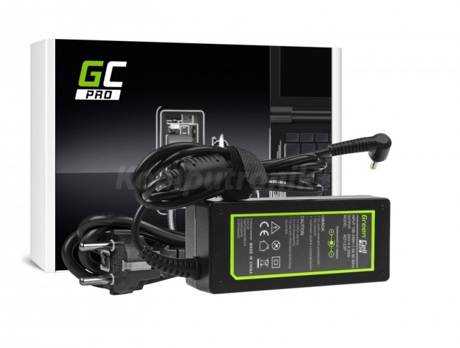 Green Cell PRO do Lenovo 65W / 20V 3.25A / 4.0mm-1.7mm - zdjęcie główne