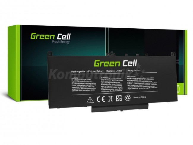 Green Cell J60J5 do Dell Latitude E7270 E7470 5800mAh - zdjęcie główne