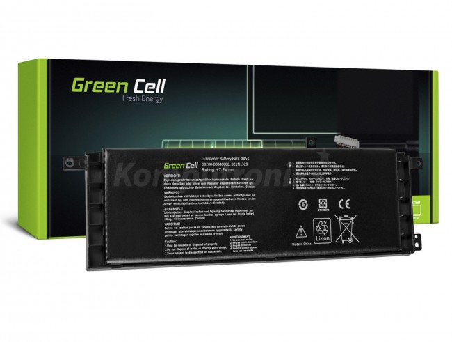 Green Cell do Asus X553 X553M F553 F553M / 7,2V 3800mAh - zdjęcie główne